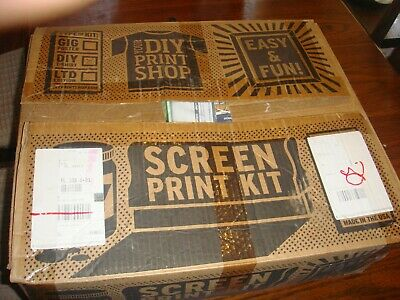 Diy Print Shop Original T-shirt Screen Printing Kit For Beginners