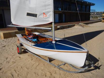 Sailing Dinghy 'Sabre' Newport Hobsons Bay Area Preview