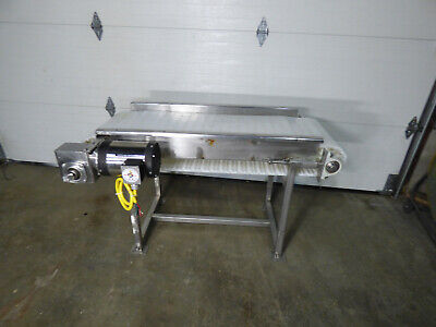 Conveyor 18 X 55 Stainless Steel Washguard Motor Nice