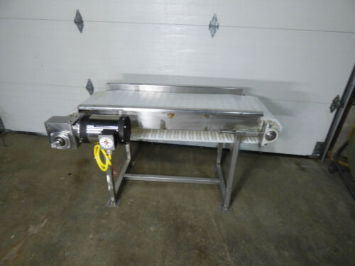 "Conveyor 18"" X 55"" Stainless Steel Washguard Motor Nice"