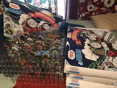 Unique Advent Calendar * Thomas Minis * Rare Minis Included! Christmas Calendars