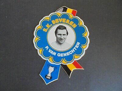 Sticker autocollant : Paul Van Genechten - SK Beveren