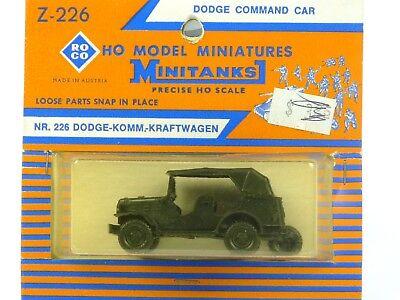 Roco Minitanks Z-226 Dodge Command Car HO Model Military Miniatures 1:87 Scale