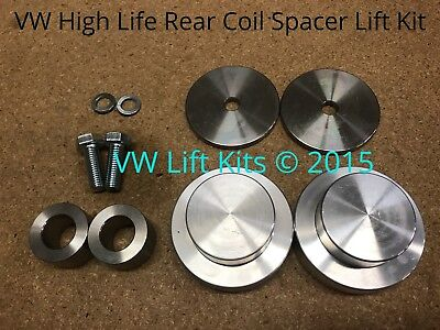 VW Coil Spacer Lift Kit 1 inch Front Rear Suspension for MK4 Beetle Golf Jetta -