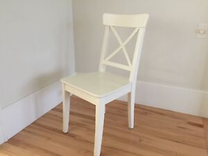 IKEA INGOLF white chair