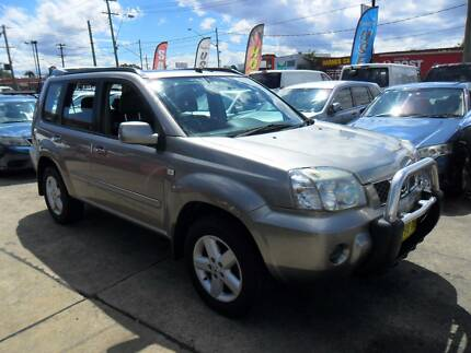2005 Nissan X-trail TI-L LUXURY SUV GREY MANUAL 4D WAGON Lansvale Liverpool Area Preview