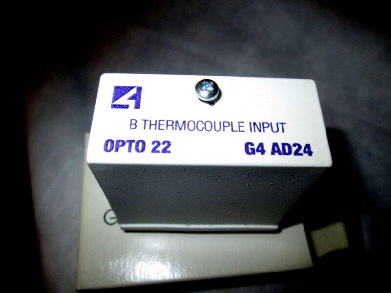 Opto 22 G4AD24 Type B Thermocouple Input No Cjc Reqd