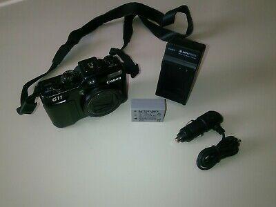 Canon PowerShot G11 Compact Digital Camera 10MP - Black