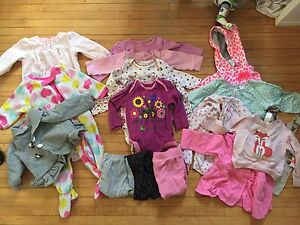 6-12 month baby girl clothes lot