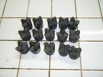 15 Lot Cross All Steel Rock Concrete Drilling Drill Bits H Thread 1 58 Timken