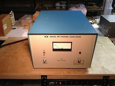 Eni 3200l Rf Power Amplifier 250 Khz - 150 Mhz 200 Watts 55 Db Gain