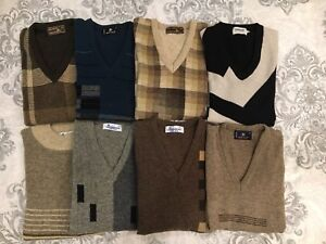 New lambs wool sweaters - light weight very fine quality