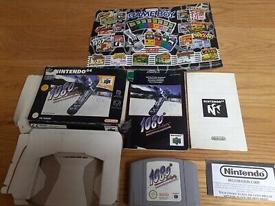 Nintendo 64 1080 Snowboarding N64 Box &Manual Included PAL