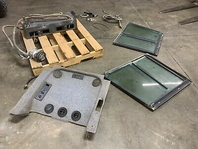 New Holland Skid Steer Heater Ac Side Windows Kit Ls190.b Ls180.b And Others