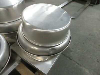 Greenheck Exhaust Fan G-120-a-x Dented Base Side Used