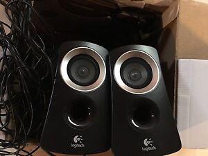 Logitech sound system, speaks
