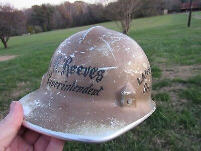 Vintage Landscaping Services Inc. Safety Hard Hat Aluminium Made By Jackson