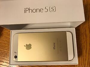 iPhone 5s gold 16 GB in mint condition