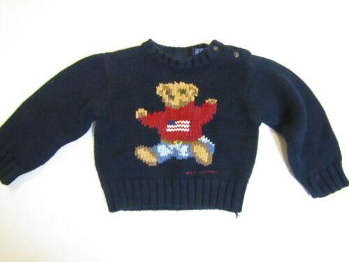 RALPH LAUREN Teddy Bear Sweater Size 12 months - 24 months