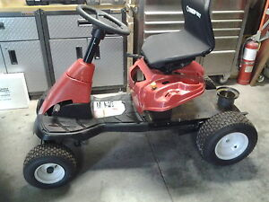 riding lawnmower frames