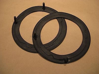 New Head Lamp MOUNTING SEALS / GASKETS MG Triumph Jag one pair