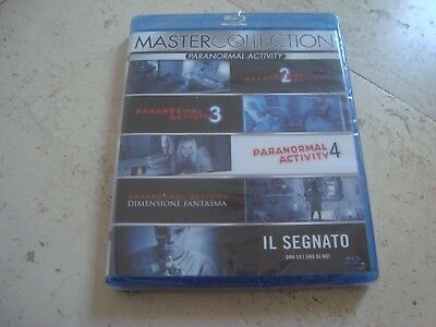 5 Blu-Ray PARANORMAL ACTIVITY collection Marked ones GHOST DIMENSION +PA 2-4](Halloween 4 5 Blu Ray)