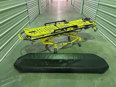 Stryker Ez Pro 2 Model 6091 Rugged Ambulance Cot Stretcher W Pad
