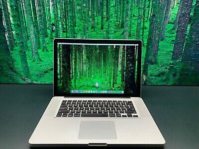 "15"" Apple MacBook Pro 1TB SSD Hybrid 8GB RAM Pre-Retina OSx-2015 3 YEAR WARRANTY"