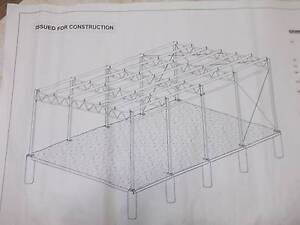 FIVE STRONG STEEL TRUSSES. Sandgate Newcastle Area Preview