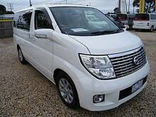 2008 Nissan Elgrand (#4648) E51 350 Highway Star Welcab Moorabbin Kingston Area Preview