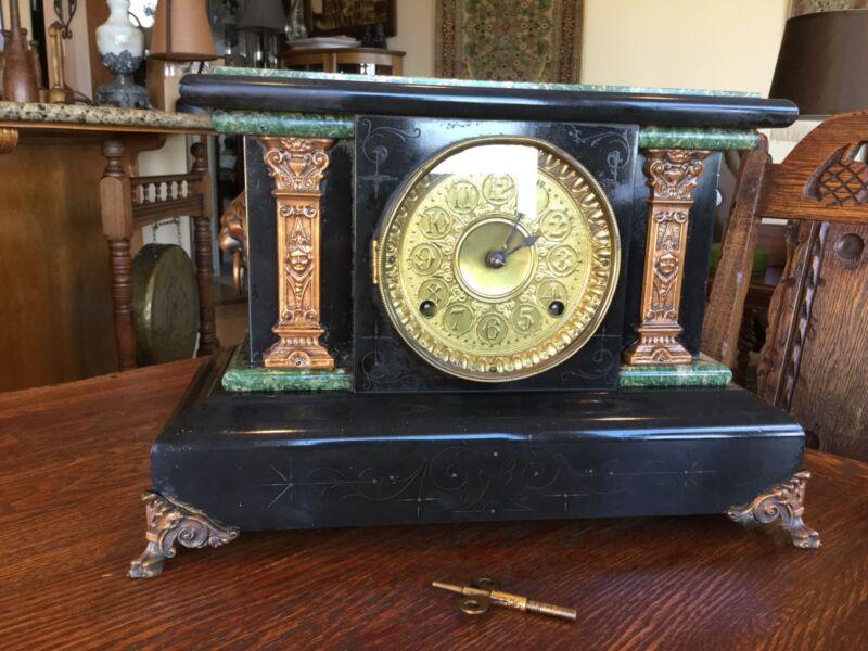 Antique Seth Thomas Mantle Or Shelf Clock