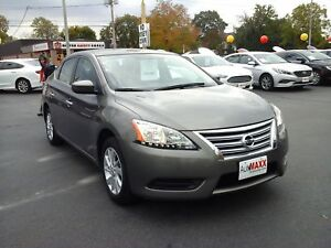 2015 NISSAN SENTRA 1.8 S- REAR VIEW CAMERA, HEATED FRONT SEATS,
