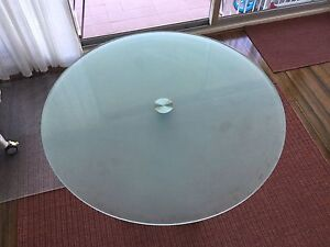 Glass top Dinning table Lane Cove Lane Cove Area Preview