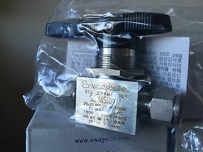 Swagelok Ss-44s10mm Ball Valve 2500 Psig Tube Fitting