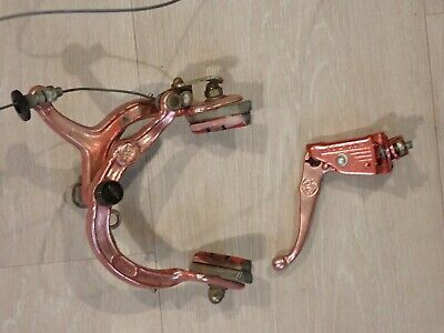 NOS BMX DIA COMPE MX 901 BRAKE SET SILVER  NEW BOXED NEVER FITTED