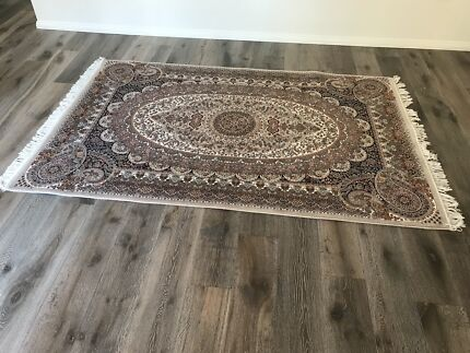 Light Grey Hand Woven Rug