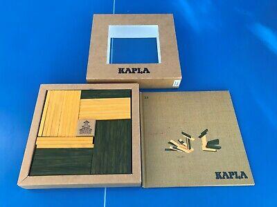 KAPLA Planchettes baril livre modèles numéro 23 + 40 PLANCHETTES jaune vert bois segunda mano  Embacar hacia Spain
