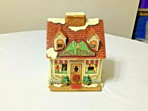 Christmas Colonial Village by Lefton - Watts Candle Shop