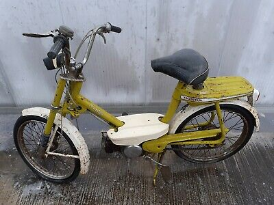 Ancienne mobylette honda amigo 1970,cyclo,scooter,solex,no émaillée