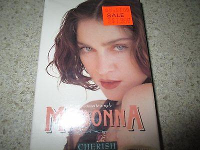 MADONNA - Cherish Cassette Single 1989 R&B Pop Brand NEW Still Sealed Tape