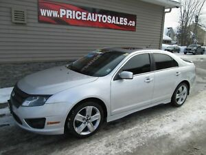 2011 Ford Fusion SPORT - NAV - HEATED LEATHER - SUNROOF!!!
