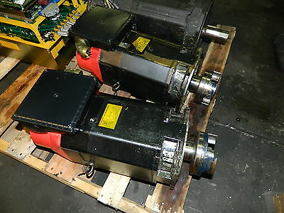 Fanuc Mod# 6S AC Spindle Motor, A06B-0754-B100, 5.5/7.5 kW, Matsuura MC-800VDC