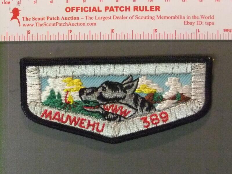 Boy Scout OA 389 Mauwehu flap 6678JJ