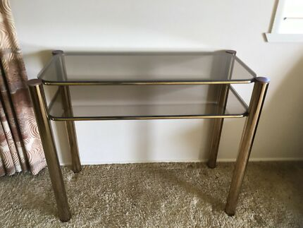 Matching side table, sofa table, coffee table & corner display stand