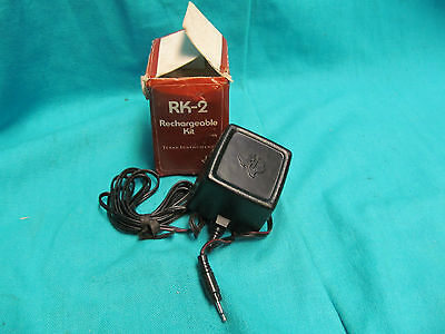 NOS TEXAS INSTRUMENT TI RK-2 RECHARGEABLE KIT FOR BP-8 BATTERY PACK CALCULATORS
