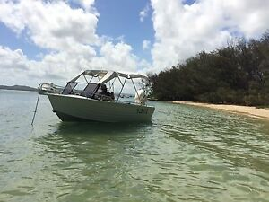 Aluminium 5.3m fisher with evinrude 135hp outboard Wellington Point Redland Area Preview