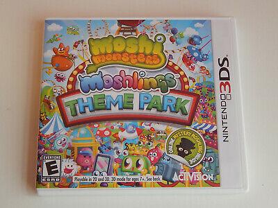 Moshi Monsters: Moshlings Theme Park Game Complete! Nintendo