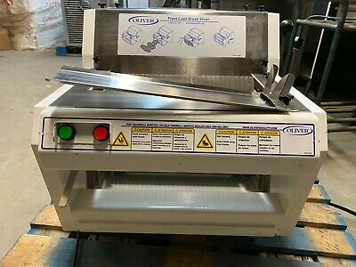 2013 Oliver 732-n Countertop 12 Commercial Bakery Bread Slicer Cutter Video