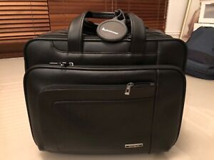 Samsonite Genuine Leather Business Laptop & accessory Bag