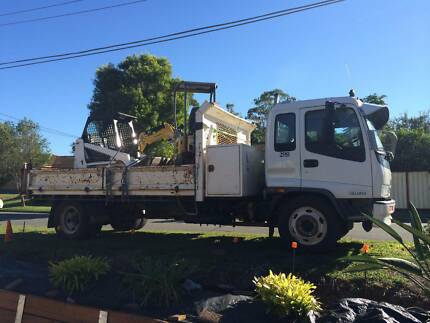 Bobcat  Excavator hire mini combo